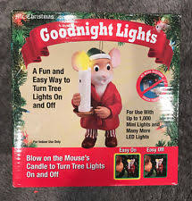 Mr Christmas Ornament - mr christmas goodnight lights blow mouse candle ornament to turn