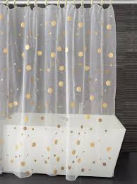 Gold And Blue Curtains White And Gold Shower Curtain Vcny Metallic Ogee Shower Curtain