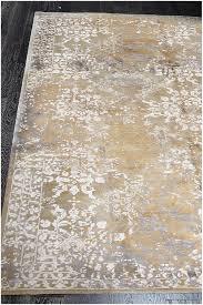 designer reserve gold hand knotted wool u0026 silk rug 19072