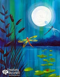 tutorial dance one more night dancing with dragonflies easy acrylic painting tutorial for youtube