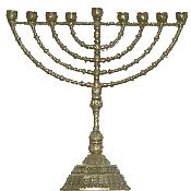 simple menorah hanukkah new world encyclopedia