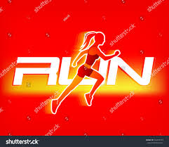 run logo template sport logotype template stock vector 564597739