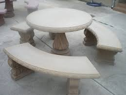 Concrete Patio Table Home Design Appealing Outdoor Cement Table Amazing Of Concrete