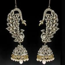 diamond earrings india 88 best indian jewelry images on indian jewelry