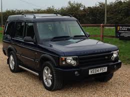 land rover discovery tdi used land rover discovery 2 5 td5 landmark 7 seat 5dr for sale in