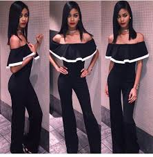 jumpsuit and rompers jumpsuit romper black romper rompers one the