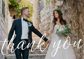 wedding photo thank you cards wedding photo thank you cards and custom postcards mixbook