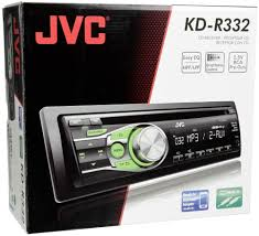 jvc home theater receiver jvc kd r332 schwarz grün car hifi video computeruniverse