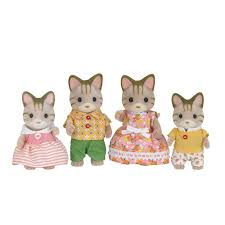 Sylvanian Families Garden Set Sylvanian Families Striped Cat Family Toys R Us