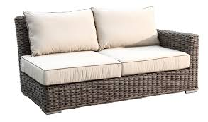sunset coronado 7 piece wicker sectional sofa set wicker com