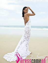 summer dress for wedding backless wedding dress mermaid lace white open backs