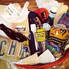 chicago gift baskets welcome to chicago gift basket portillos revolutionbrewery