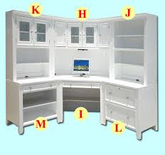 Sauder White Desk by Sauder Corner Desk With Hutch Corner Desk With Hutch Design You