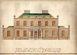 Georgian Mansion Floor Plans William Had Grand Designs On A New Georgian House At Lisnavagh At