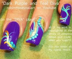 nail art design fuchsia nail art dark purple nail art 24k gold