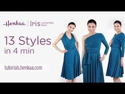 13 ways to wear the iris convertible dress youtube