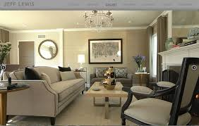 Jeff Lewis Living Spaces by Earth Tones Living Room Streamrr Com