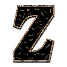 black guest book signature letter z guest book sign letter 21 foam board party