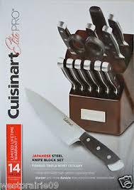 cuisinart kitchen knives 14 pieces cuisinart elite pro knife block set japanese steel
