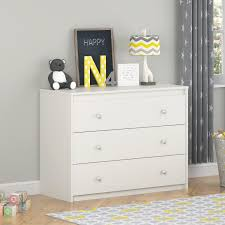 amazon com cosco products elements 3 drawer dresser white