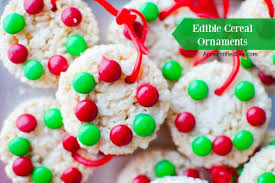edible cereal ornaments recipe