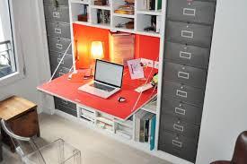 bureau avec rangement intégré bureau avec rangements intgrs achatdesign avec meuble avec bureau