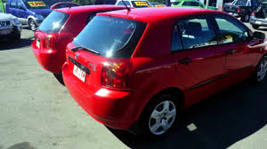 toyota hatchback 2005 toyota corolla red automatic hatchback youtube