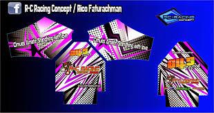desain jaket racing fitaariyani desain jersey motocross jaket printing branding mobil