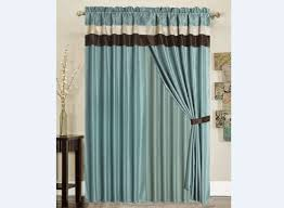 Blue And Brown Curtains Light Blue And Brown Curtains Best Curtains Design 2016