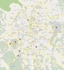 Kathmandu Nepal Map by Kathmandu Nepal Skyscrapercity