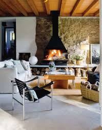 Rustic Interiors by Exposed Stone Walls In Interior Design 13 Decorating Tips And