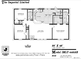 big kitchen house plans jacobsen imlt 44815b 28 x 48 1280 sq ft a small house with