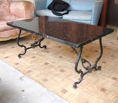 wrought iron table base for granite wrought iron tables iron table bases for granite tops clinton tables