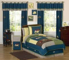 Jojo Design Bedding Blue Green Construction Zone Trucks Boys Bedding Twin Full Queen