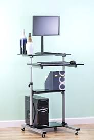 Standing Computer Desk Ikea Desk S3545 35w Stand Up Writing And Computer Desk Black Free