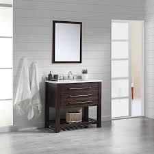 Ove Decors Bathroom Vanities Shop Ove Decors Harry Java Brown Undermount Single Sink Bathroom