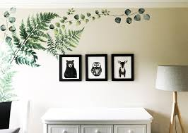 White Nursery Decor Woodland Creatures Nursery Decor For Baby Boy Or