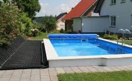 selbstbau poolheizung solar rapid