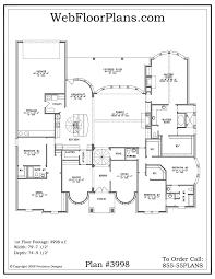 floor plan for single story home distinctive house unique plans