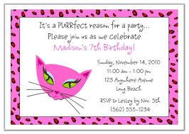 diva kitty cat birthday party invitations diva kitty kids birthday
