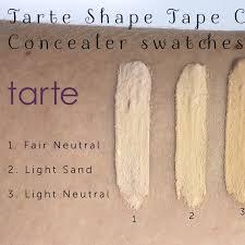 light sand tarte concealer tarte shape tape concealer in light sand used twice only health