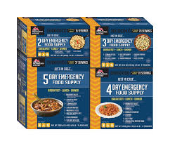 mountain house just in case 14 day emergency food supply kit