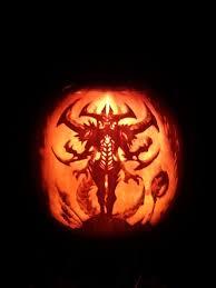 Pumpkin Carving by 2013 Halloween Pumpkin Carving Contest Diablo Iii