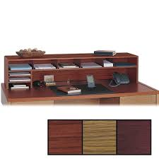 Safco Desk Organizers Desks Hutch Organizer Low Desk Desktop Ikea Intended For Plan 5