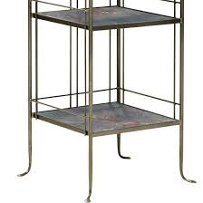 Charleston Forge Bakers Rack Monarch Wrought Iron Bakers Rack With Slate Shelves