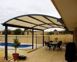 Patio Cover Designs Pictures Arched Aluminum Patio Cover Design To Give More Room