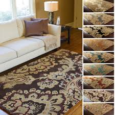 Tufted Area Rug Westfield Home Cairo Lilou Distressed Brown Area Rug 5 3 X 7 2