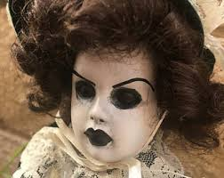 Creepy Doll Costume Art Doll Ooak Doll Halloween Doll Horror Doll Creepy