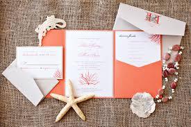 coral wedding invitations plumegiant com