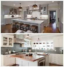 style de cuisine cuisine style ancien et moderne chaise cuisine contemporaine